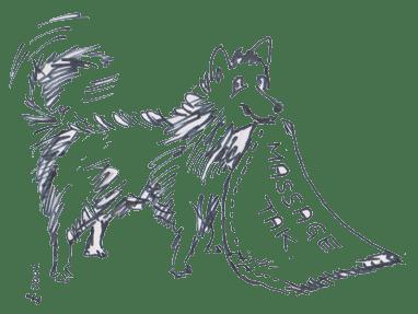 Waterwalker og terapi for hunde